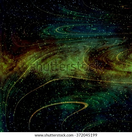 Gravitational Waves  - Background Suitable for Custom Scientific Content - stock photo