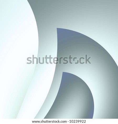 Gray abstract curvings (fractal abstract background)