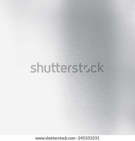 gray and white abstract background subtle chrome texture - stock photo