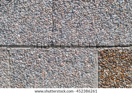 Gray and white tiles texture background.  Wall with tiles - stock photo