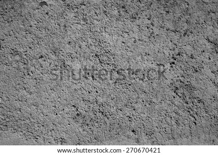 Gray antique wall - stock photo