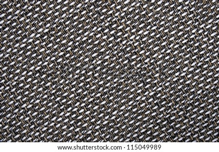 Gray background structure of a rough fabric - stock photo