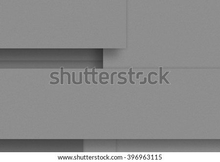 Gray blank abstract paper background, craft material, design element
