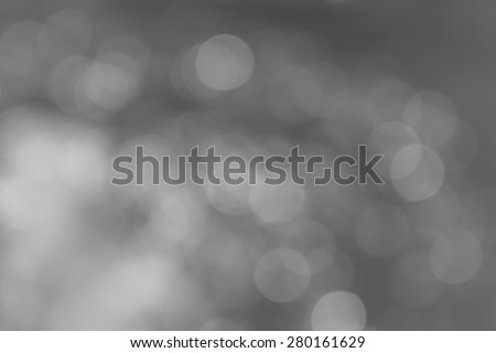 gray bokeh abstract silver background with texture - stock photo