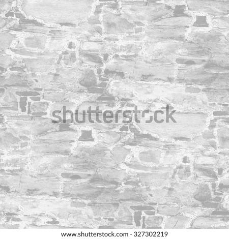 gray brick wall texture - seamless background - stock photo