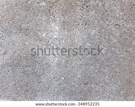 Gray Cement Gravel texture - stock photo