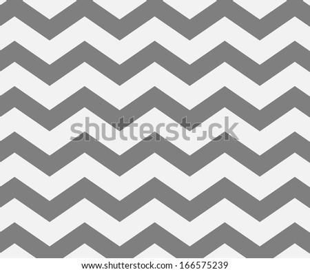 Gray Chevron Texture - stock photo