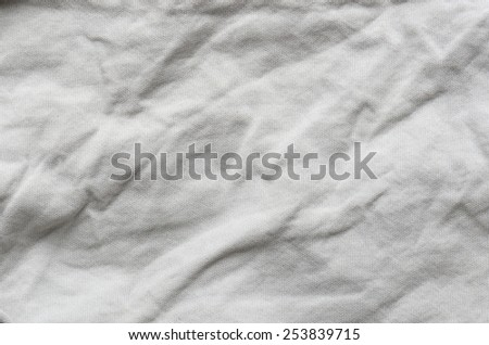 gray cotton close up texture background - stock photo