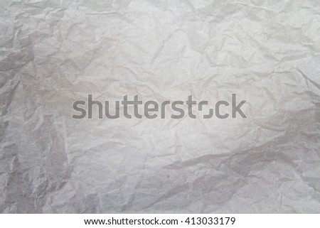 Gray creased paper background texture