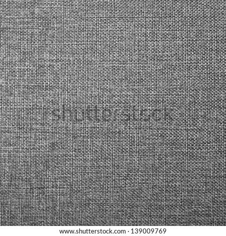 Gray Fabric Texture, Background, Pattern - stock photo