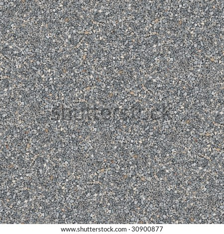 Gray Gravel Seamless Pattern - this image can be composed like tiles endlessly without visible lines between parts. - stock photo