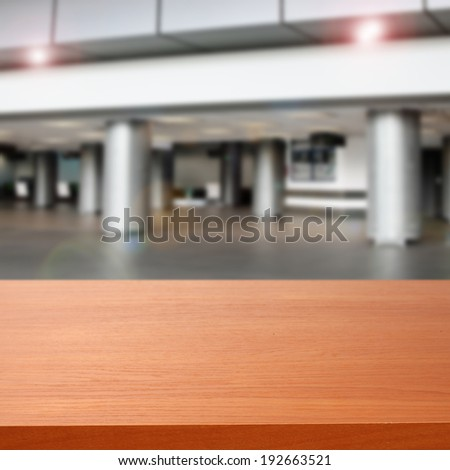 gray interior of airport and hall  - stock photo
