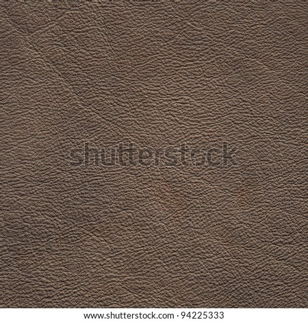 gray leather texture closeup - stock photo