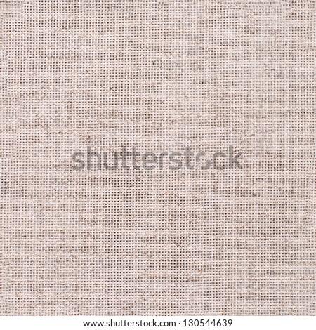 Gray linen cloth canvas background, copy space design ready - stock photo