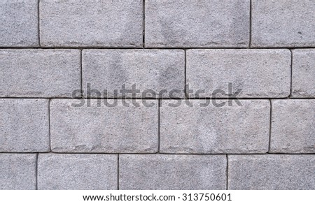 gray marble brick wall abstract for background. - stock photo
