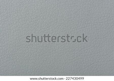Gray Matte Faux Leather Texture - stock photo