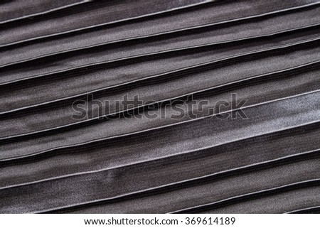 gray pleated fabric texture