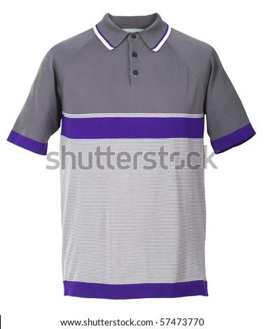 gray shirt - stock photo