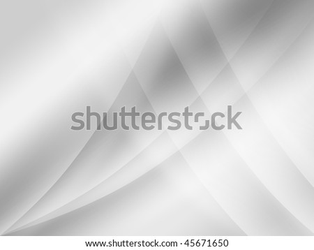Gray silk wave background - stock photo