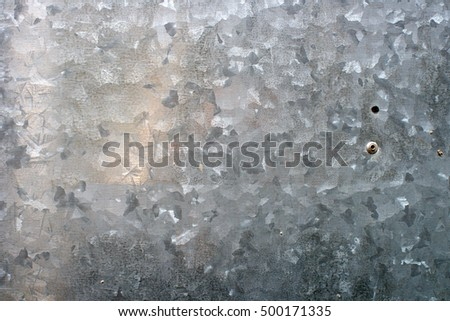 Gray Silver Metal texture with shiny surface