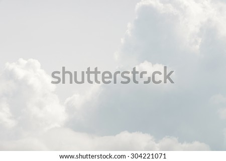 gray sky background or texture - stock photo