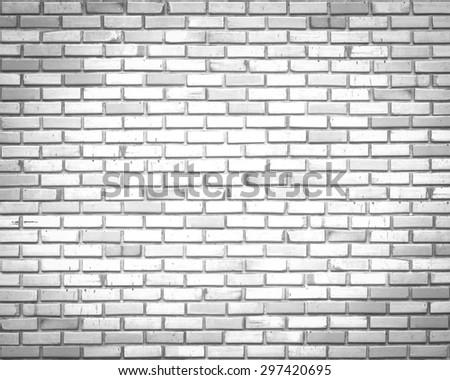 Gray tiles brick wall texture background. - stock photo