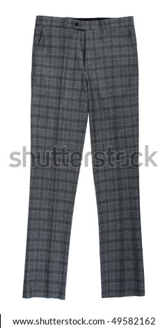 gray trousers - stock photo