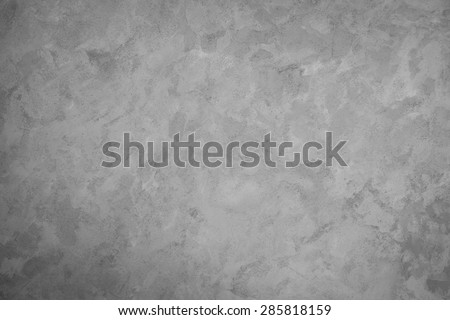 Gray wall cement paint texture  background - stock photo