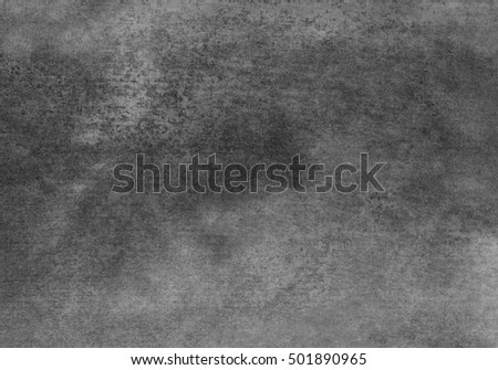gray watercolor background, monochrome composition