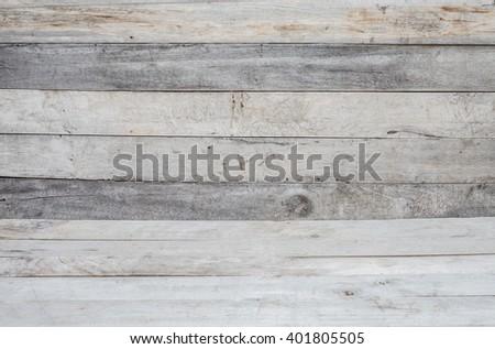 Gray Wood Surface background - stock photo