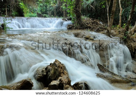Greanggavea water fall in Thailand