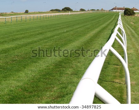 Great background for racing topics and bets - stock photo