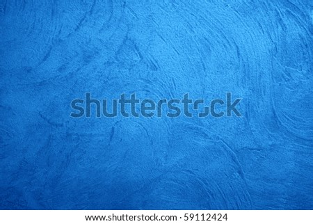 Great background made with a texture of a blue wall - stock photo