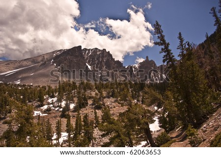 Great Basin National Park in Eastern Nevada - stock photo
