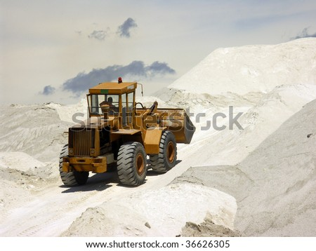 Great bulldozer at work