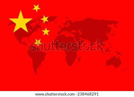 Great China - stock photo