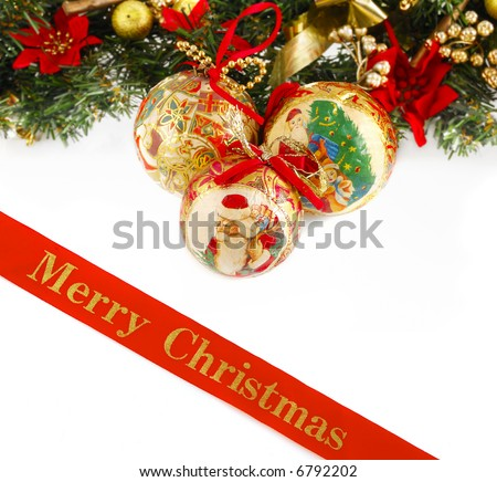 great Christmas concept - stock photo