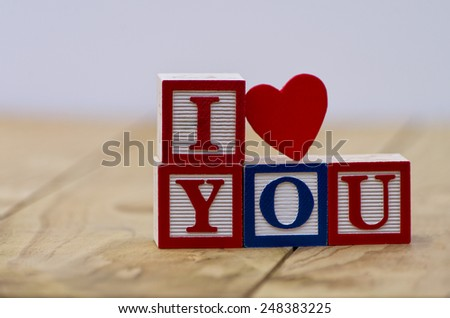 Great concept for Valentine's day - stock photo