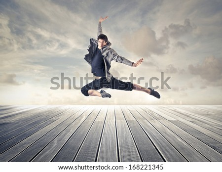 Great Dancer - stock photo
