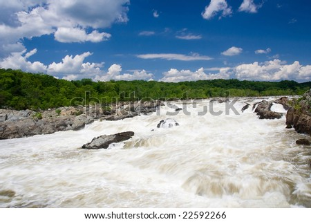 Great Falls Park / Maryland - stock photo
