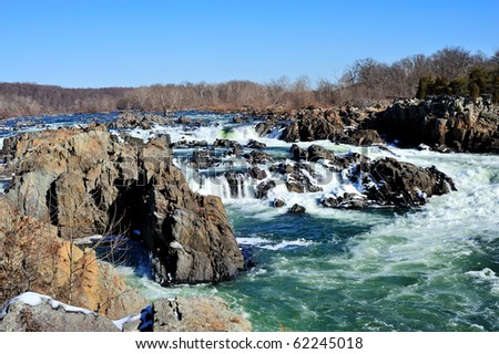 Great Falls, Virginia - stock photo
