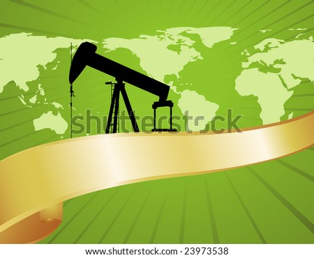 Great for reports on green oil production or environmentally friendly fuel practices. - stock photo