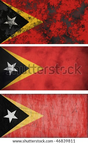 Great Image of the Flag of East Timor
