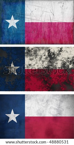 Great Image of the Flag of Texas - stock photo
