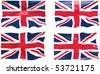 Great Image of the Flag of the united Kingdom - stock vector