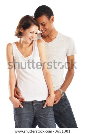 Great Inlove Couple Having Fun - check my gallery for more pictures - stock photo