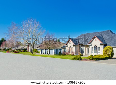 Great neighborhood in suburbs of Vancouver ( Surrey ) Canada.