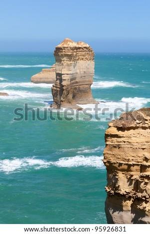 Great ocean road in Vic, Australia - stock photo
