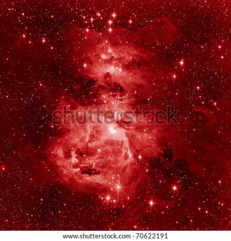 Great Orion Nebula - stock photo