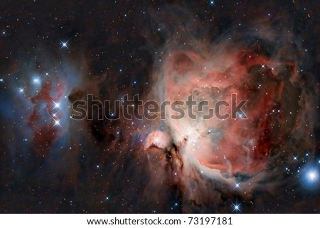 Great Orion Nebula - stock photo